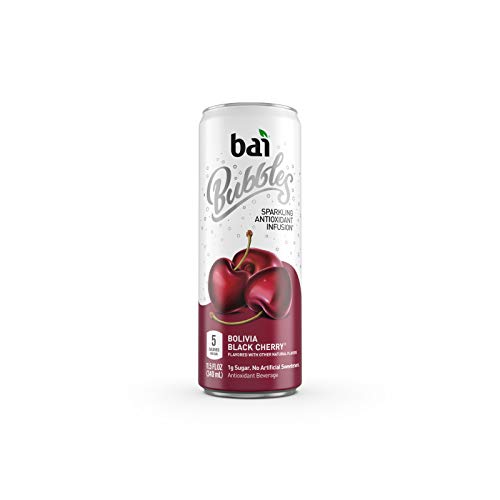Bai Sparkling Water, Black Cherry, 11.5 Fl Oz