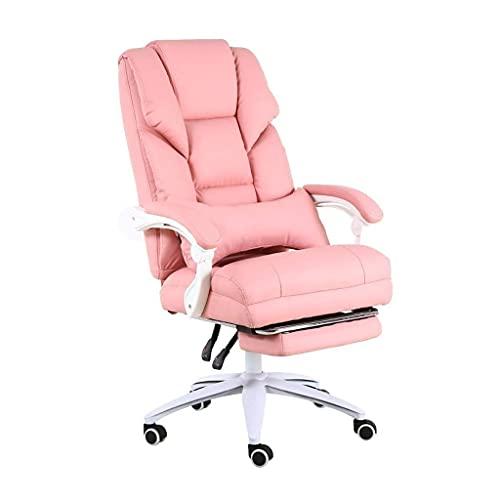 RTYUI Sedia da computer con ancora sedia a dondolo rosa per bambini, comoda sedia da gioco, per ufficio, camera da letto, sedia reclinabile a dormire (colore: rosa, dimensioni: 70 70 115 cm)