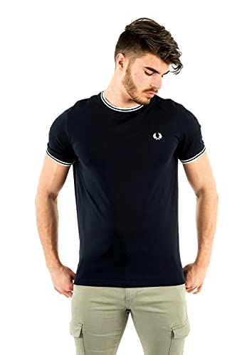Fred Perry Twin Tipped T-Shirt, Camiseta - L