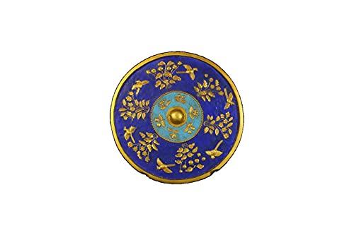 LAOJUNLU Una colección de espejos dorados y quemados azules de la dinastía Tang con patrones claros y lisos Formas únicas gruesas y naturales de pátina antigua colección de