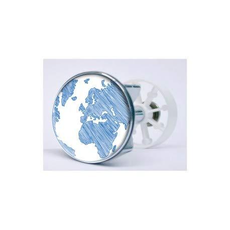 Sticker Globe selbstklebend Ablaufgarnitur Waschbecken Waschbecken Korken