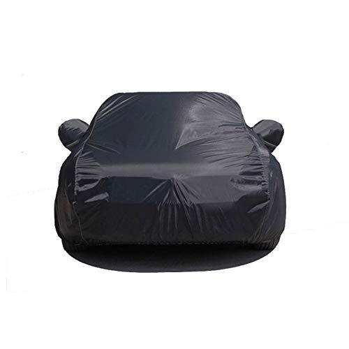 Fundas para Coche Cubierta negra de tela de coche suave Compatible con Toyota, Highlander RAV4 PRADO FORTUNER CH-R SUV CUBIERTA SUPERIOR SUPER A prueba de sol a prueba de sol a prueba de sol 2021
