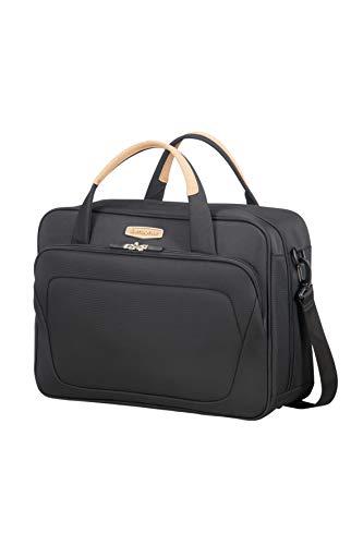 SAMSONITE Spark Sng Eco Shoulder Bag Borsa Messenger, 44 cm, 25 liters, Nero (Eco Black)