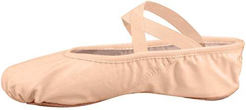 Zapatillas ballet nias media punta Split plana Zapatos