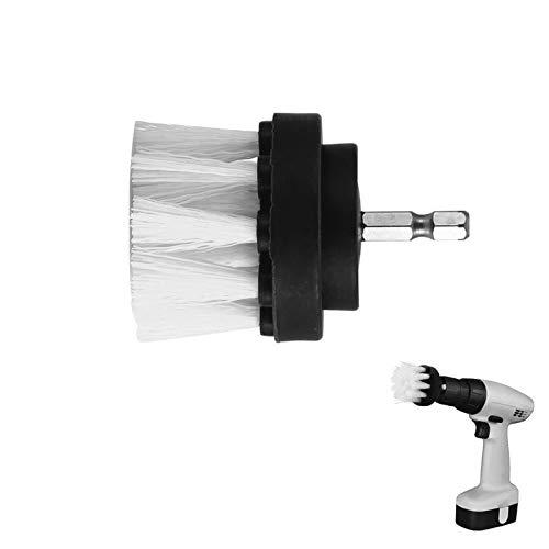 KJBGS Cepillo Multiusos 1 unids 2 Pulgadas eléctrica de Limpieza de Pincel de Limpieza de Pincel para Eliminar Las Manchas obstinadas en la baldosa cerámica de Piedra Blanca Práctico y Conveniente