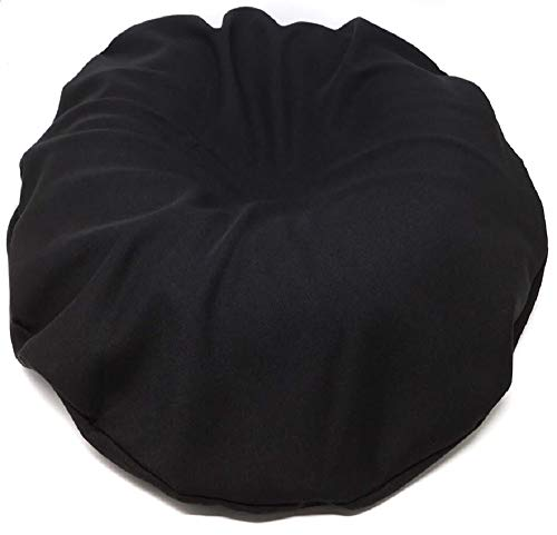 Comfortnights Surgical Ring Cushion (Donut Cushion) (Piles/Pile),with Washable Black Poly Cotton Cover