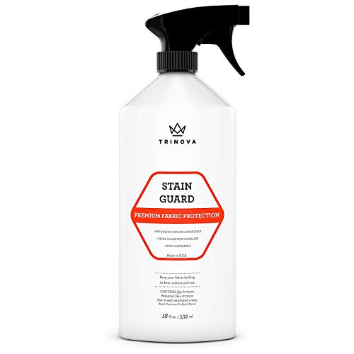TriNova Non-Aerosol Stain Guard - Fabric Protection Spray for Upholstery, Carpet, Rugs and More to protect from liquid stains (18 oz)