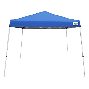 Caravan Canopy V-Series 2 Slant Leg 12 X 12 Foot Canopy Kit, Blue