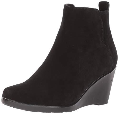 Blondo Women's VOR Waterproof Ankle Boot, Black Suede, 9.5 M US
