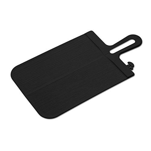 Koziol 3251526 Planche à découper Snap L Noire, Plastique, 44,4x22,2x0,44 cm