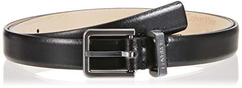 Calvin Klein 2cm Bombe' Belt Cintura Donna, Nero (Black 001) 5 (Taglia Produttore: 85)