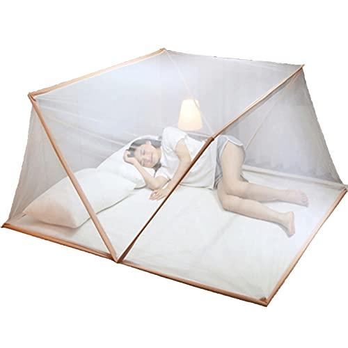 mosquitero Tienda de Mosquitos Plegables, mosquitera portátil, cobertizo para Cama para niños, mosquitera al Aire Libre para el hogar y el Viaje (Size : S)