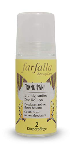 farfalla Frangipani, Blumig-sanfter Deo Roll-on, 50 ml