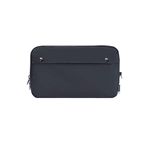 Anmy Electronic Accessories Organizer Digital Device Storage Bag Portable Waterproof Digital Accessories Travel Mobile Phone Storage Bag (Color : Black, Size : 14x22x6cm)