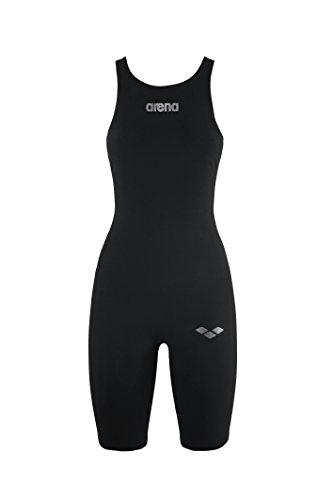 arena Damen Schwimm Wettkampfanzug Powerskin R-EVO+, Black, 32, 25112