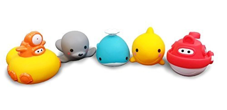 Guppy & Friends 5 LARGE BATH Squirters [並行輸入品]