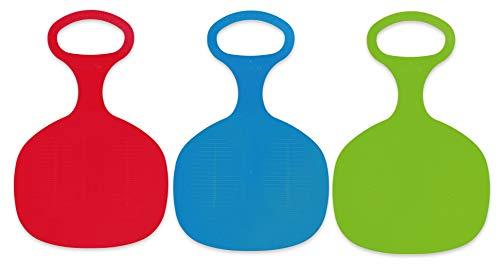 Betzold 757492 – Schneerutscher für Kinder, 3er-Set – Popo-Rutscher Schlitten Schneeflitzer