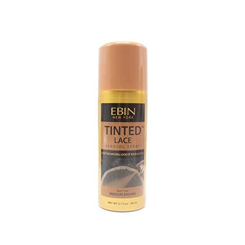 EBIN NEW YORK Tinted Lace Aerosol Spray - Medium Brown