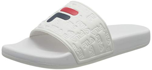 FILA Damen Baywalk wmn Slipper, White, 38 EU