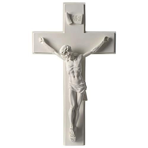 Holyart Crocifisso in Marmo Sintetico 60 cm
