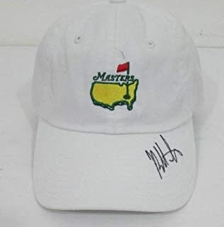 Bubba Watson Autographed Signed MasterS Hat JSA N48617