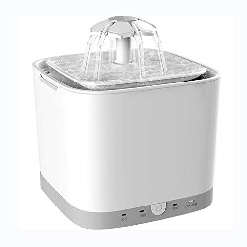 Fontaine d'eau pour Animal Domestique, Bol de Distributeur de Distributeur d'eau Potable Super Silencieux 2L