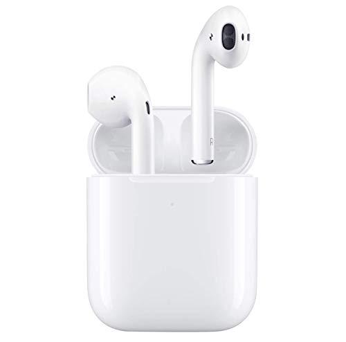 Drahtlose Kopfhörer, geräuschunterdrückende In-Ear-Kopfhörer mit tragbarer Ladetasche, Mobiltelefon/Laufen/hochwertige automatische Verbindung mit eingebautem Mikrofon, IPX7 wasserdicht