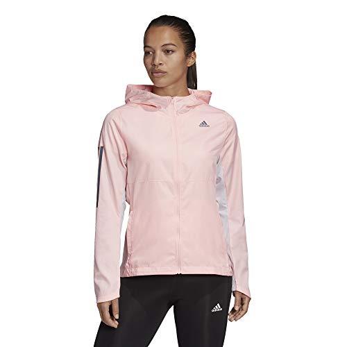 adidas Own The Run JKT Chaqueta, Mujer, corneb, XS
