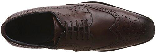 BATA Men's Alex Derby Tan Light Leather Formal Shoes