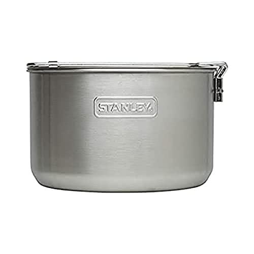 Stanley Unisex 's One 2 Bowl Camp Cook Set, Edelstahl, 568 ml