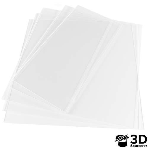 3mm Transparent Clear Plexiglass for IKEA Lack 3D Printer Enclosure (5 Pack) | 3 Pieces of 440mm x 440mm (17.3' x 17.3') & 2 Pieces of 220mm x 440mm (8.65' x 17.3') | Laser Cut to Precision