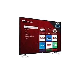 "TCL 65"" Class 4-Series 4K UHD HDR Roku 2017 Smart TV - 65S405"