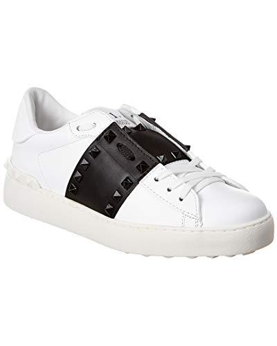 Valentino Garavani - Zapatillas deportivas para mujer SW2S0A01 LTU A01 Rockstud, color blanco y negro Blanco Size: 36.5 EU