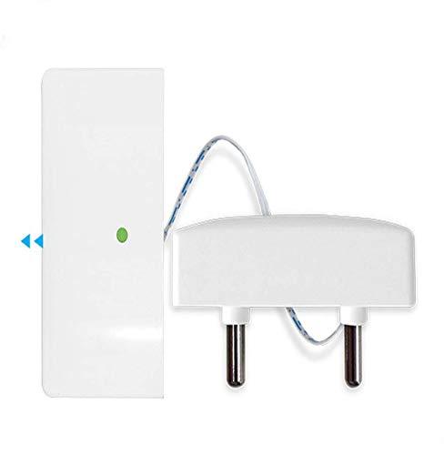 JC Funk 433 MHz Wassermelder, Überschwemmungsleckage Fühler Indoor Einfache Verwendung