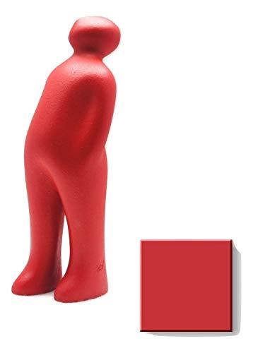 Cores da Terra Keramikfigur The Visitor von Guido Deleu 24 cm - urucum rot (dunkler)