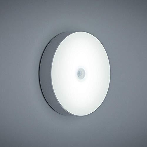Nachtlicht 6 LEDs Pir Bewegungssensor Nachtlicht Auto EIN/Aus Für Schlafzimmer Treppen Schrank Kleiderschrank Drahtlose USB Wiederaufladbare Wandleuchte Coldwhite