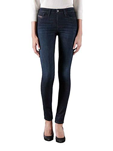 Diesel - Jeans da donna Skinzee – High Super Slim-Skinny a vita alta RX418 Stretch Blu...