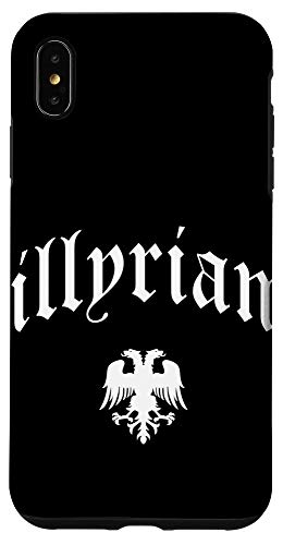 iPhone XS Max Illyrian Albanian Case