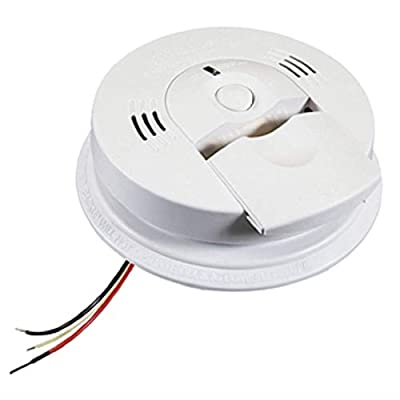 Kidde KN-COSM-IB Hardwire Combination Carbon Monoxide and Smoke Alarm with Battery Backup and Voice Warning, Interconnec by Kidde