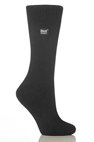 Heat Holders - Calcetines térmicos, originales para hombre, talla de zapatos de EE.UU. 7 – 12, Carbón, Mediano