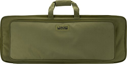 Loaded Gear 35' Rifle Tactical Rifle Gun Case Bag (Green)