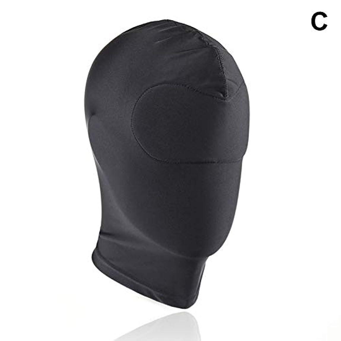 保守的元気セラーAlligado 1ピースマスクフードセックスグッズ製品ゲームコスプレボンデージヘッドギア安全なハロウィーンギフト