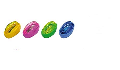 Apontador Escolar 400 com Deposito, CIS, 31.7100, Caixa c/12 unidades sortidas