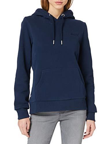 Superdry Womens OL Classic Hood Hooded Sweatshirt, Rich Navy, M