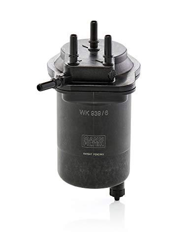 Original MANN-FILTER Filtro de Combustible WK 939/6 – Para automóviles