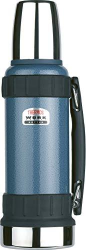 Thermos Work Series Flask, Hammertone Blue, 1.2 L
