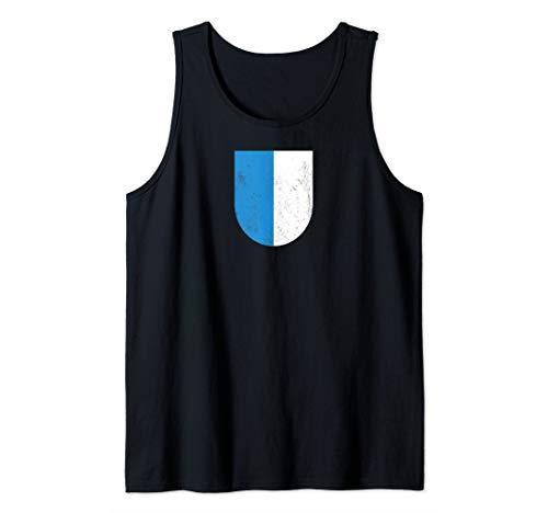 Luzern Wappen - Schweizer Stadt und Kanton Wappen T-Shirt Tank Top