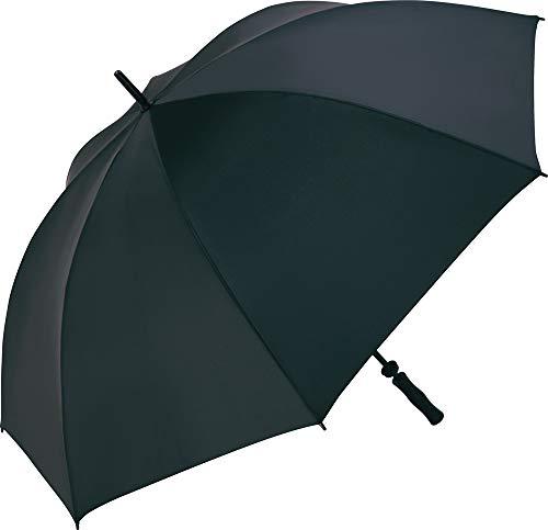 Fare - Parapluie golf 130 cm - fibre de verre - 2235 - coloris NOIR - WINDPROOF - grande taille