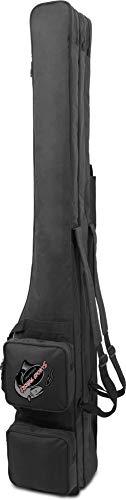 normani Rutentasche RodBox Triple Allround Rutenfutteral - 3 Fächer - Verschiedene Längen Farbe Schwarz Größe 1,60 m