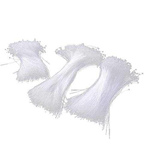 NUOBESTY 3000 stücke Kunststoff Tag Verschluss Schnappverschluss Pin Fallumbau Kleidung Tag Sicherheitsschleife Preis